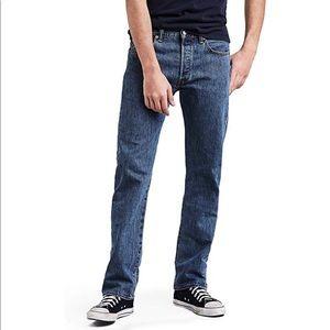Levi's 501 medium wash blue jeans men's 32x34
